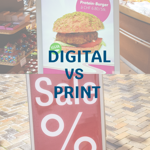 Digital vs Print