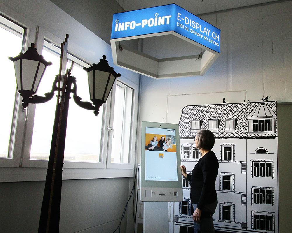 Info-Point Mitarbeiter