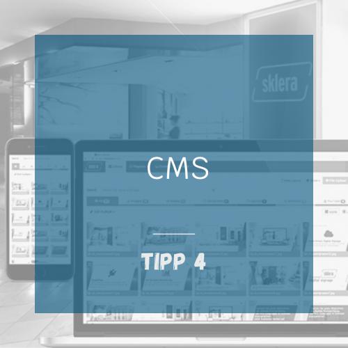 Tipp 4 - CMS